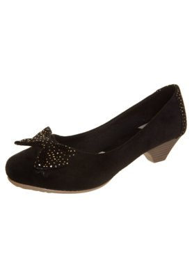 Sapato Scarpin Anna Flynn Laço Preto