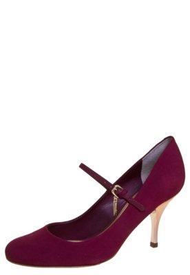 Sapato Scarpin Dumond Mary Jane Salto Médio Vinho