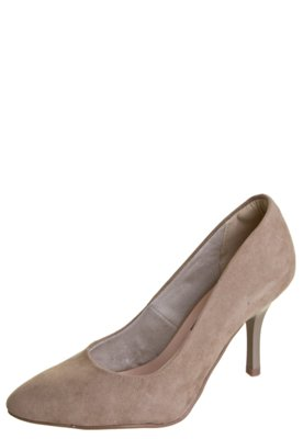 Sapato Scarpin Anna Flynn Classic Bege