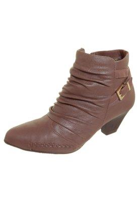 Ankle Boot Ramarim Total Comfort Fivela Marrom