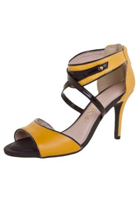 Sandália Dakota Textura Amarela