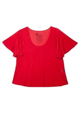 Blusa Loose Genuine Vermelha - Coca Cola Clothing