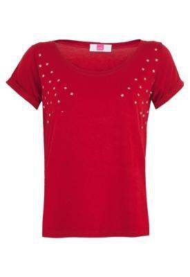 Blusa Pink Connection Hot Star Vermelha