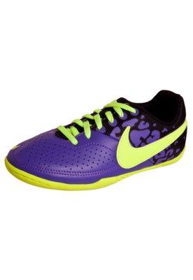 Chuteira Futsal Nike Jr Elástico II Roxo