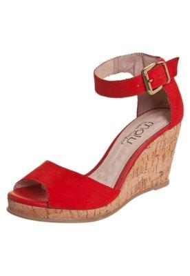 Sandália Malu Super Comfort Kiara Vermelha