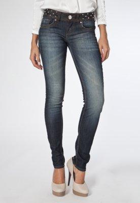 Calça Jeans Katy SPikes Azul - Colcci