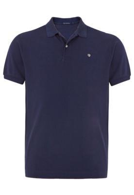 Camisa Polo Richards Escudo Azul