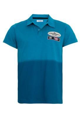 Camisa Polo FiveBlu Defence League Azul