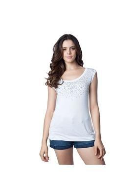 Blusa Básica Branca - Shop 126