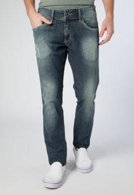 Calça Jeans Osmoze Skinny Dirty Azul