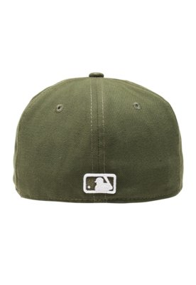 Boné New Era 59Fifty Basic Colors Green Oakland Athletics V...