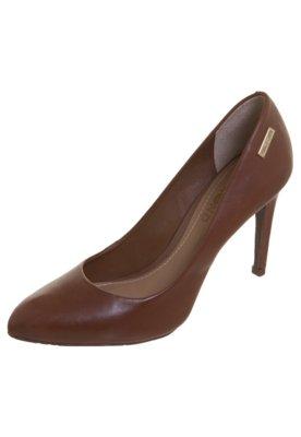 Sapato Scarpin Unic marrom - Dumond