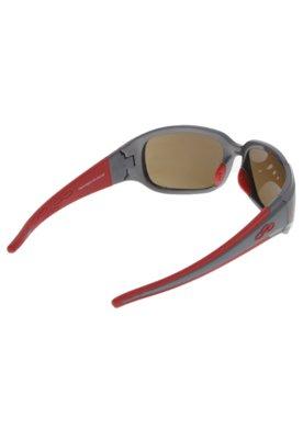 Óculos de Sol Olympikus Copenhagen Flamengo Cinza