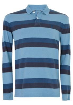 Camisa Polo Espanha Listrada - AD Life Style