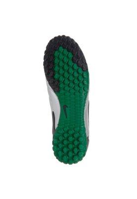 Chuteira Society Nike Bomba 5 Prata/Verde