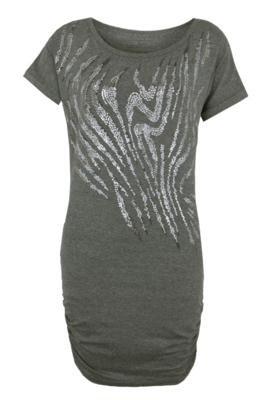 Vestido Print Cinza - Calvin Klein Jeans