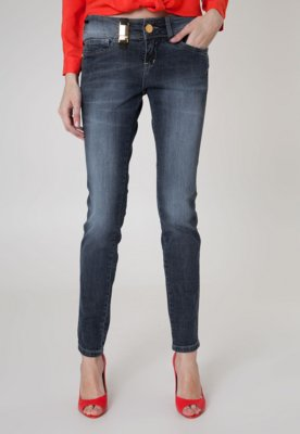 Calça Jeans Osmoze Skinny Mid Rise Azul
