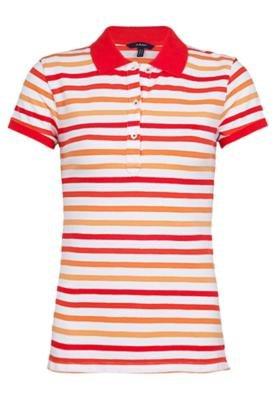 Camisa Polo Preppy Piquê Laranja - Gant