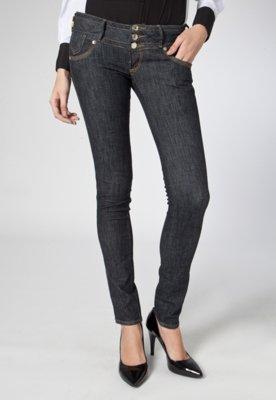 Calça Jeans Skinny Helen Ferragem Azul - Forum