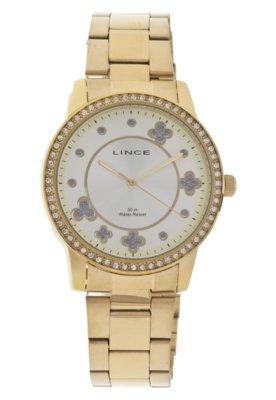 Relógio Lince LRG4180L S1KX Dourado