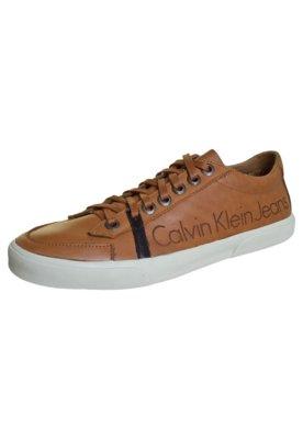 Tênis Calvin Klein Jeans Urban Marrom