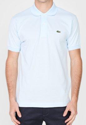 Camisa Polo Live Azul - Lacoste