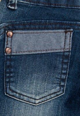 Calça Jeans Sawary Infantil Skinny Flower Azul