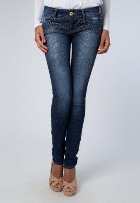 Calça Jeans Skinny Edna 2 Azul - Colcci
