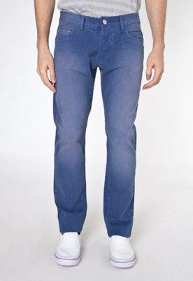 Calça Jeans Sawary Mistic Reta Azul