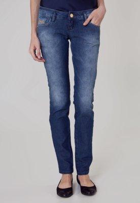 Calça Jeans Coca-Cola Clothing Elastica Skinny Indigo Azul ...