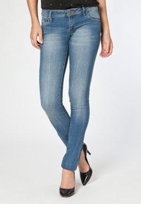 Calça Jeans MNG Barcelona Skinny Alice Azul