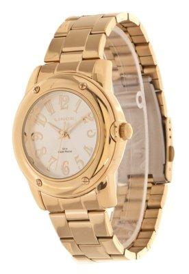 Relógio Lince LRG4186L S2KX  Dourado