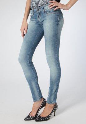 Calça Jeans Push Up Lavagem Azul - Colcci