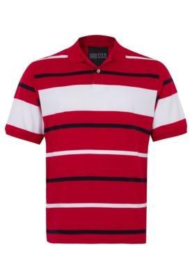 Camisa Polo Pier Nine Harry Vermelha