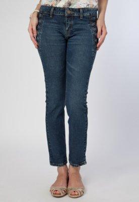 Calça Jeans Carmim Skinny Paris Azul