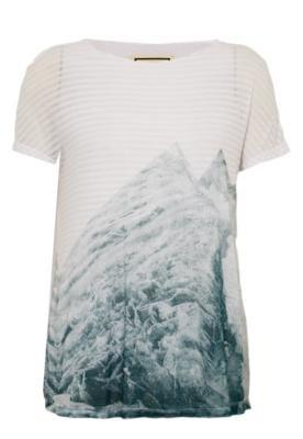 Blusa Trendt Peace Branca