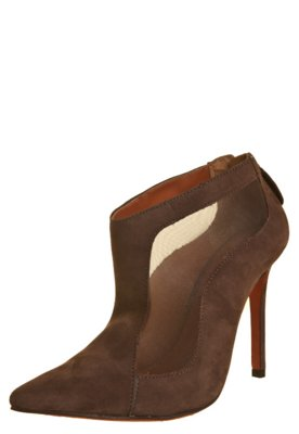 Ankle Boot My Shoes Wood Marrom