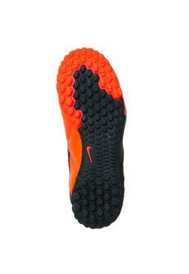 Chuteira Society Nike Jr. 5 Bomba II Laranja