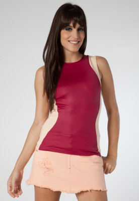 Blusa Snip Rosa/ Nude - Coca Cola Clothing