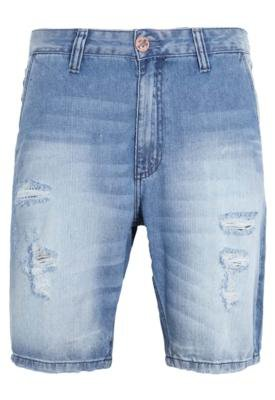Bermuda Jeans Cavalera Reta Arthur Life Azul