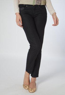 Calça Jeans Cantão Skinny Idea Preta
