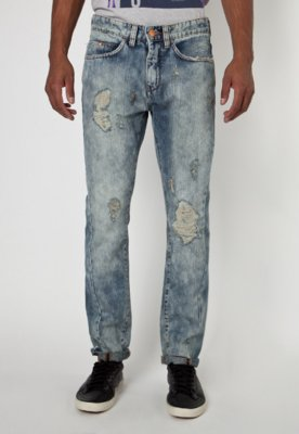 Calça Jeans Calvin Klein Jeans Reta Night Azul