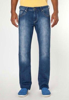 Calça Jeans Forum Didier Índigo Bord Azul