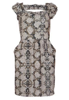 Vestido Vintage Cinza - Mercatto