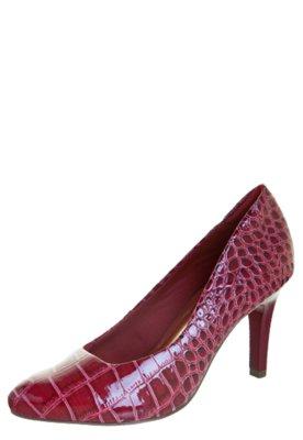 Sapato Scarpin Anna Flynn Modern Vinho