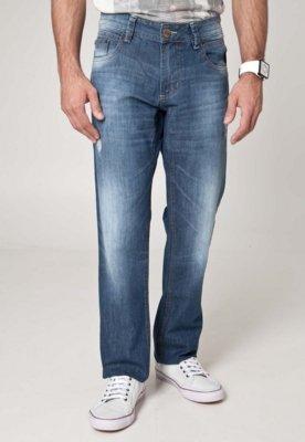 Calça Jeans Sawary Reta Perfection Azul