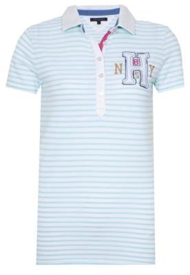 Camisa Polo Tommy Hilfiger Classic White Verde