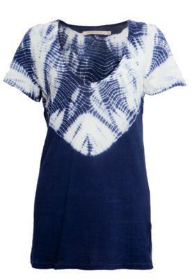 Blusa Espaço Fashion Drop Azul