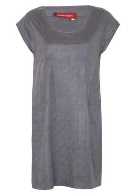 Vestido Suade Cinza - Iódice Denim