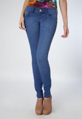 Calça Jeans Skinny Pesponto Azul - Coca Cola Clothing